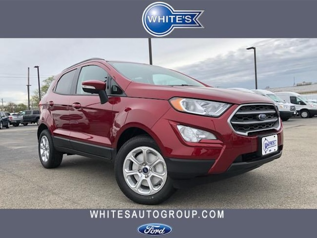 New 2019 Ford EcoSport SE FWD SUV Near Springfield OH