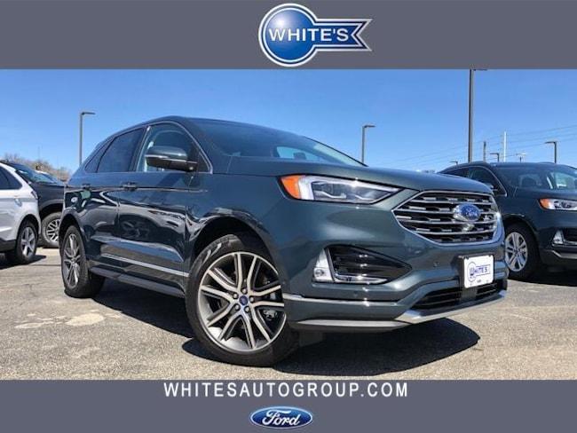 New 2019 Ford Edge Titanium AWD SUV Near Springfield OH