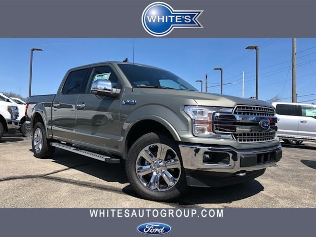New 2019 Ford F-150 LARIAT 4WD SuperCrew 5.5 Box Truck Near Springfield OH