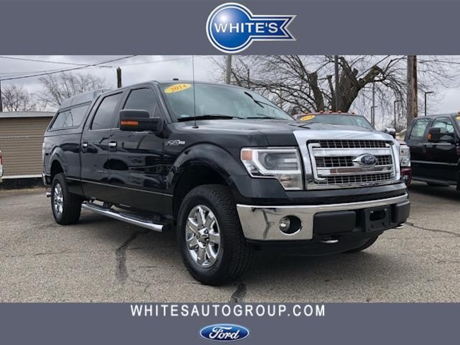 Used 2014 Ford F-150 4WD SuperCrew 157 XLT Truck near Springfield