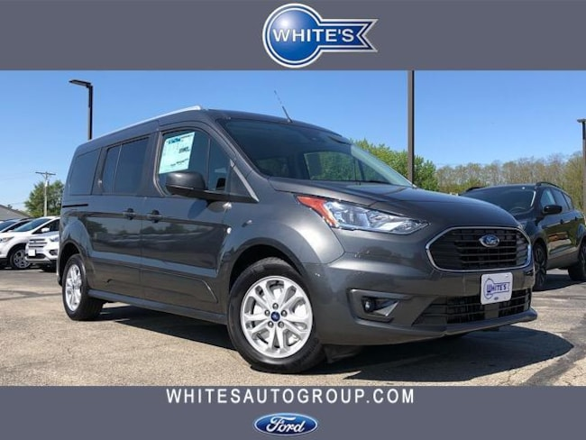 New 2019 Ford Transit Connect Wagon XLT LWB w/Rear Liftgate Minivan Near Springfield OH