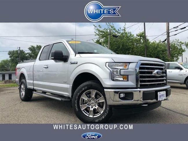 Used 2017 Ford F-150 XLT 4WD SuperCab 6.5 Box Truck near Springfield