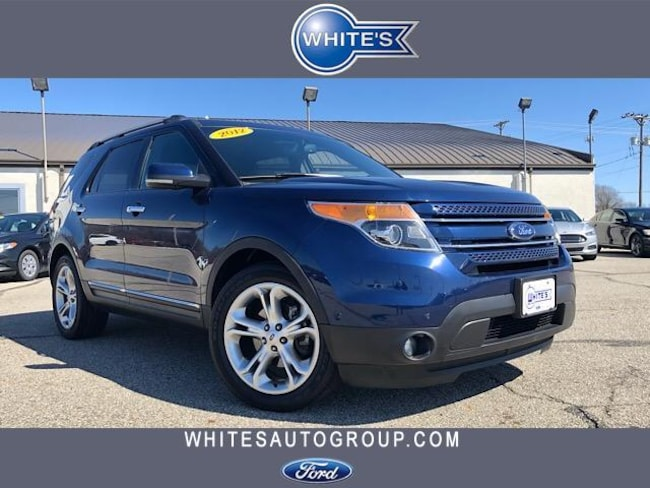 Used 2012 Ford Explorer FWD  Limited SUV near Springfield