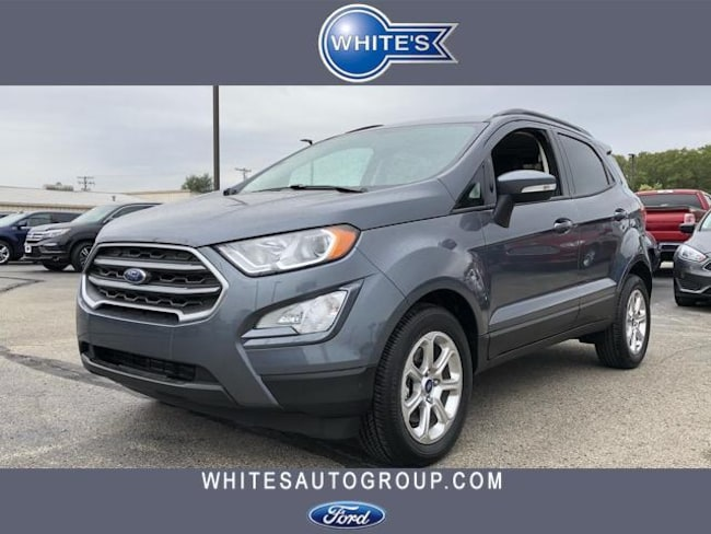 New 2018 Ford EcoSport SE FWD SUV Near Springfield OH