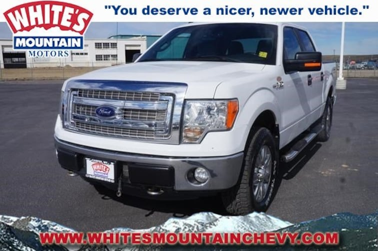 Used 2014 Ford F-150 XLT XLT 4WD SuperCrew 145 P4135 in Casper, WY