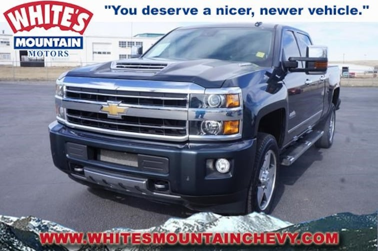 Used 2018 Chevrolet Silverado 2500HD High Country 4WD Crew Cab 153.7 High Country 190379A in Casper, WY