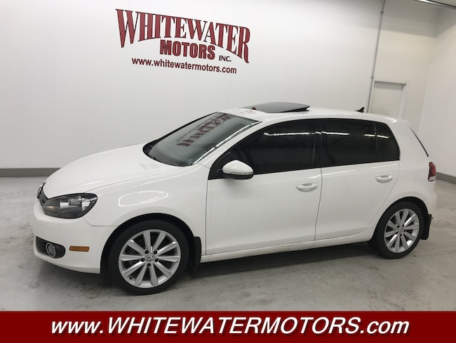2014 Volkswagen Golf TDI w/Sunroof & Nav Hatchback