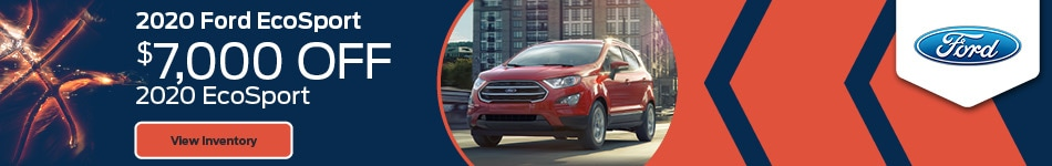 2020 Ford EcoSport - $7000 Off