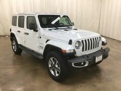 New 2018 Jeep Wrangler UNLIMITED SAHARA 4X4 Sport Utility Barrington Illinois