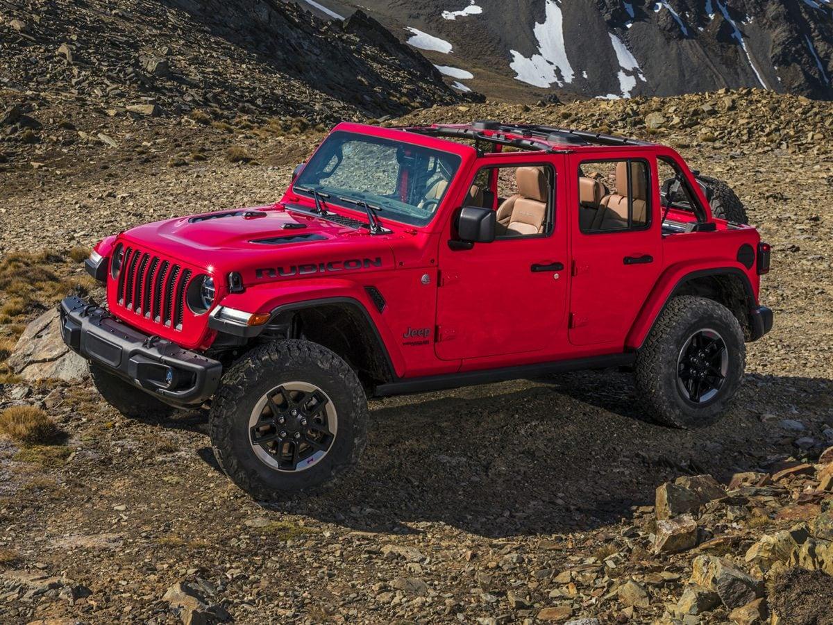 Used 2018 Jeep Wrangler Unlimited Sahara 4x4 SUV Barrington Illinois