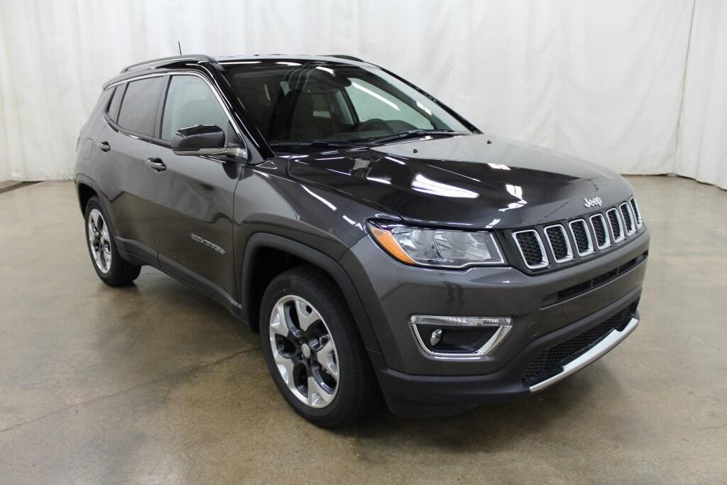 Used 2018 Jeep Compass Limited FWD SUV Barrington Illinois
