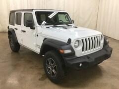 New 2019 Jeep Wrangler UNLIMITED SPORT S 4X4 Sport Utility Barrington Illinois