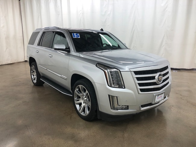Used 2015 CADILLAC Escalade Luxury SUV For Sale Barrington Illinois