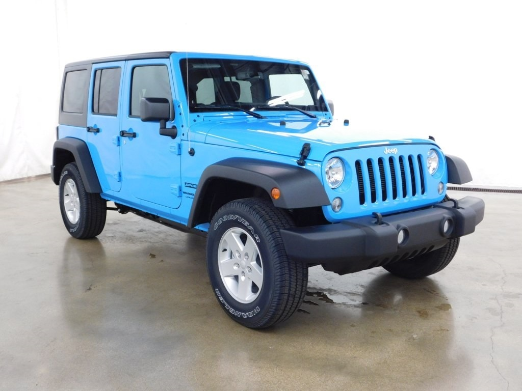 Used 2018 Jeep Wrangler JK Unlimited Sport 4x4 SUV Barrington Illinois