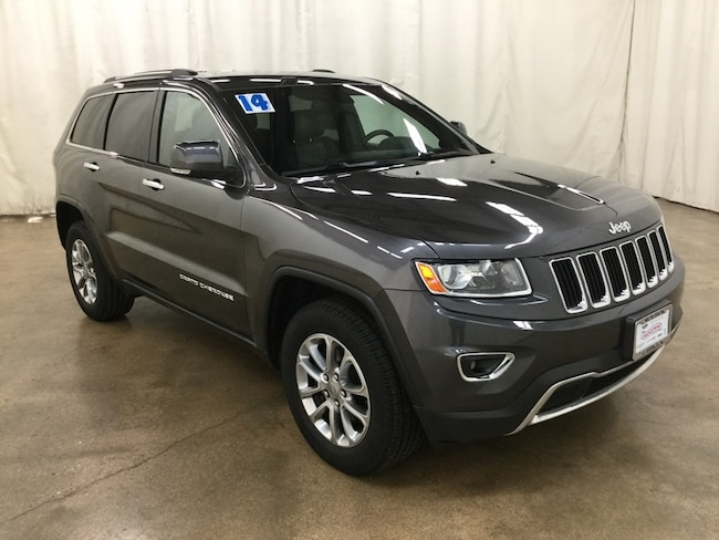 Used 2014 Jeep Grand Cherokee Limited 4x4 SUV For Sale Barrington Illinois