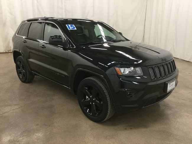 Used 2015 Jeep Grand Cherokee Laredo 4x4 SUV For Sale Barrington Illinois