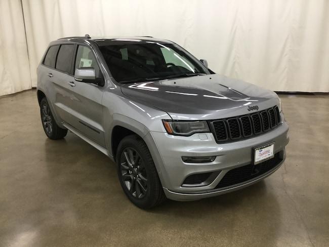 New 2019 Jeep Grand Cherokee HIGH ALTITUDE 4X4 Sport Utility Barrington IL