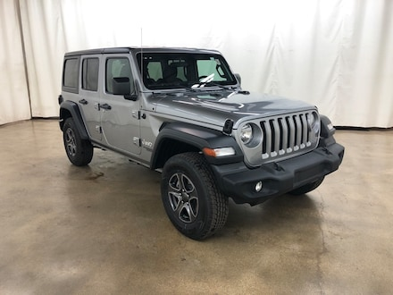 Used 2019 Jeep Wrangler Unlimited Sport 4x4 SUV Barrington Illinois