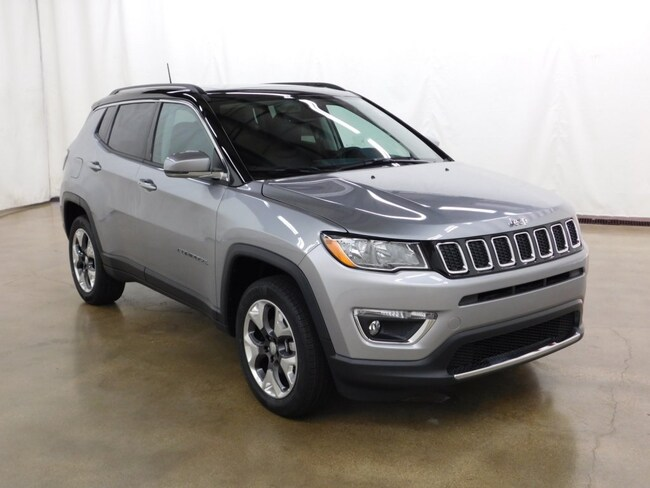 2018 jeep compass limited 4x4 for sale near schaumburg, naperville