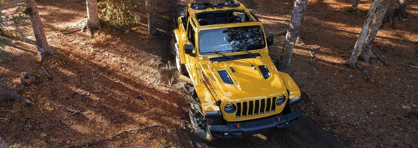 Yellow 2019 Jeep Wrangler