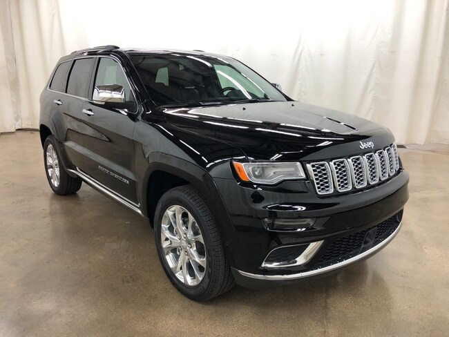 New 2019 Jeep Grand Cherokee SUMMIT 4X4 Sport Utility Barrington IL