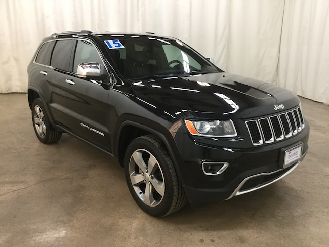 Used 2015 Jeep Grand Cherokee Limited 4x4 SUV For Sale Barrington Illinois