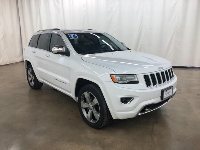 Used 2016 Jeep Grand Cherokee Overland 4x4 SUV For Sale Barrington Illinois