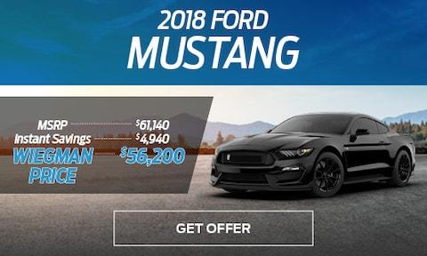 2018 Mustang Special