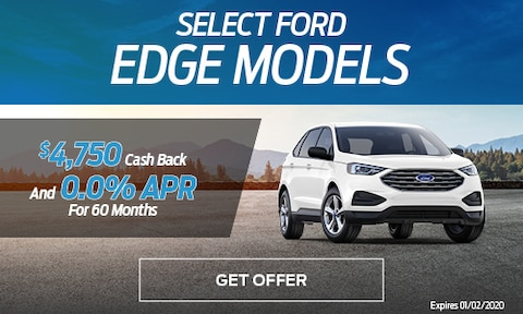 New Ford Edge Special