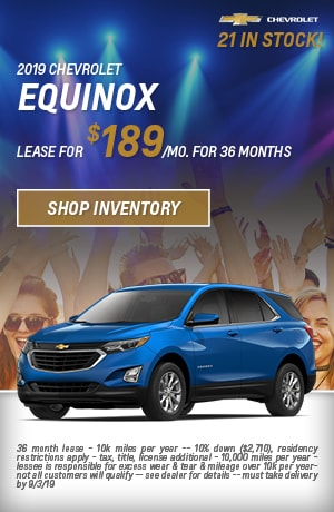 August 2019 Equinox Special