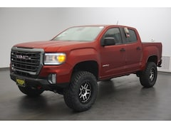 New 2021 GMC Canyon AT4 w/Leather Truck Crew Cab MC5123 for Sale in Conroe, TX, at Wiesner Buick GMC