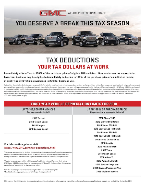 Business Tax Info Wiesner Buick Gmc