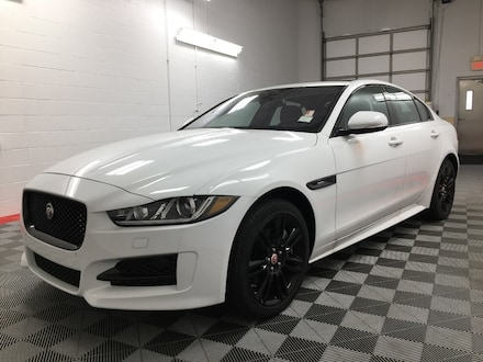 Featured Pre-Owned 2018 Jaguar XE 25t R-Sport AWD sedan SAJAL4FX5JCP36523 for Sale near Neenah, WI