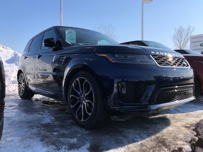 New 2019 Land Rover Range Rover Sport HSE SUV in Appleton, WI