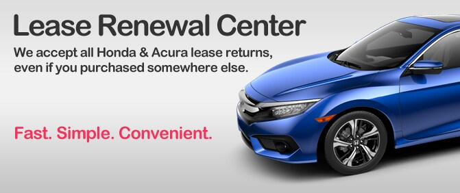 Wilde Honda Lease Renewal Center