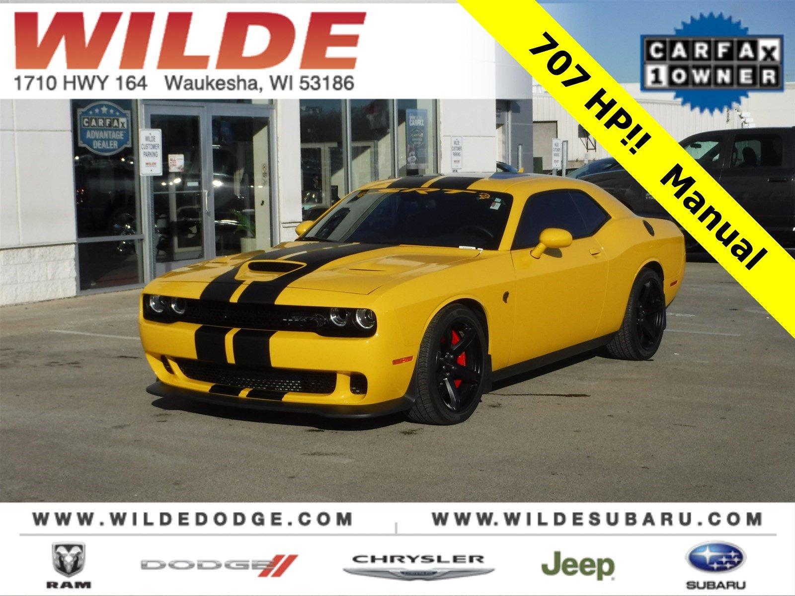 2017 Dodge Challenger SRT Hellcat Coupe