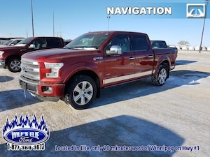 2016 Ford F-150 Platinum Balance Of Factory Warranty
