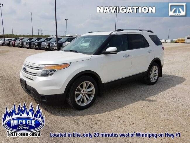 2011 Ford Explorer Limited  Navigation - 6 Passenger SUV