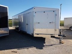 2018 Agassiz 101X24 4 Place Sled Trailer HH4289