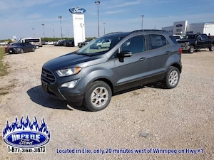 2018 Ford EcoSport SE  Heated Front Seats