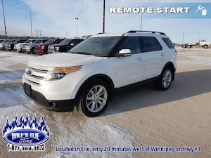 2014 Ford Explorer Limited  - Heated Steering Wheel