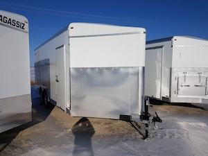 2019 Agassiz 8.5X18 Barn Doors HH4417
