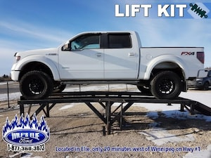 2014 Ford F-150 - Lift Kit - Aftermarket Rims -