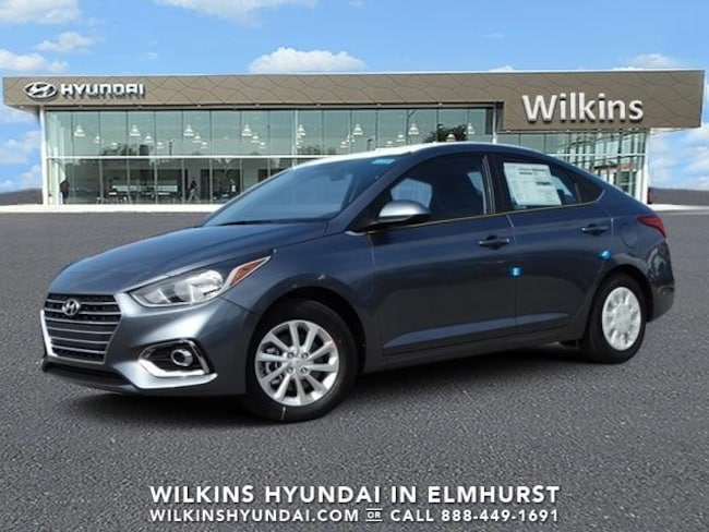 New 2019 Hyundai Accent SEL Sedan Near Chicago