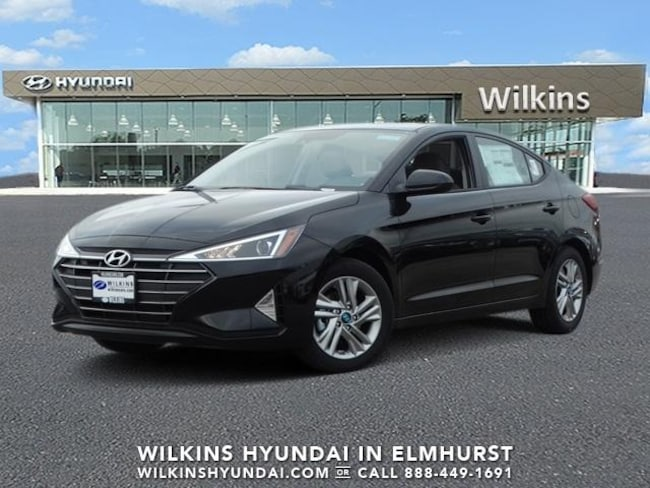 New 2019 Hyundai Elantra SEL Sedan Near Chicago