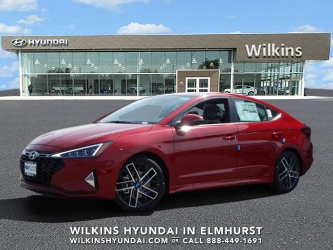 New 2019 Hyundai Elantra Sport Sedan Near Chicago