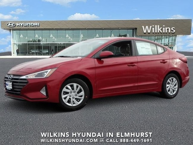 New 2019 Hyundai Elantra SE Sedan Near Chicago