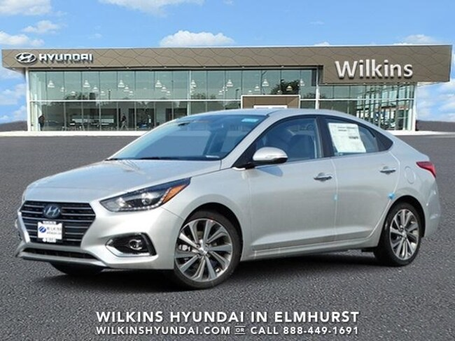 New 2019 Hyundai Accent Limited Sedan Near Chicago
