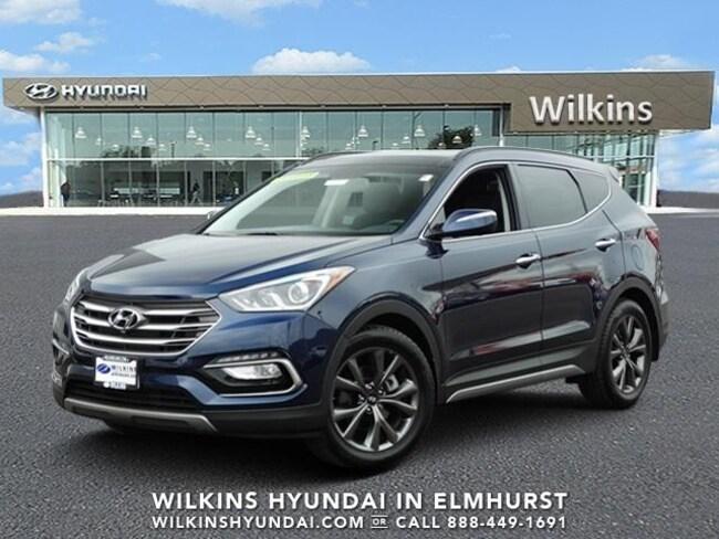 New 2018 Hyundai Santa Fe Sport 2.0L Turbo Ultimate SUV Near Chicago