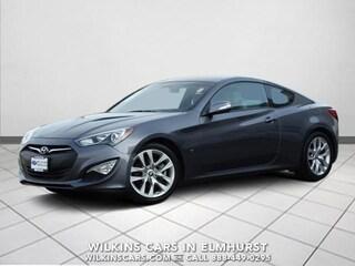 Certified 2015 Hyundai Genesis Coupe 3.8L Auto  w/Gray Seats Coupe Elmhurst